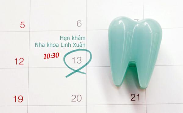 Đặt hẹn khám răng ONLINE