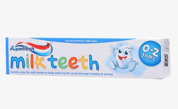 Chọn kem đánh răng cho trẻ