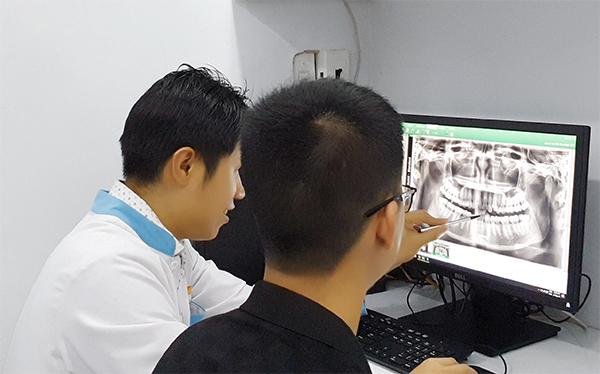 Chụp film X-Quang cắt lớp 3 chiều tại Nha Khoa LINH XUÂN