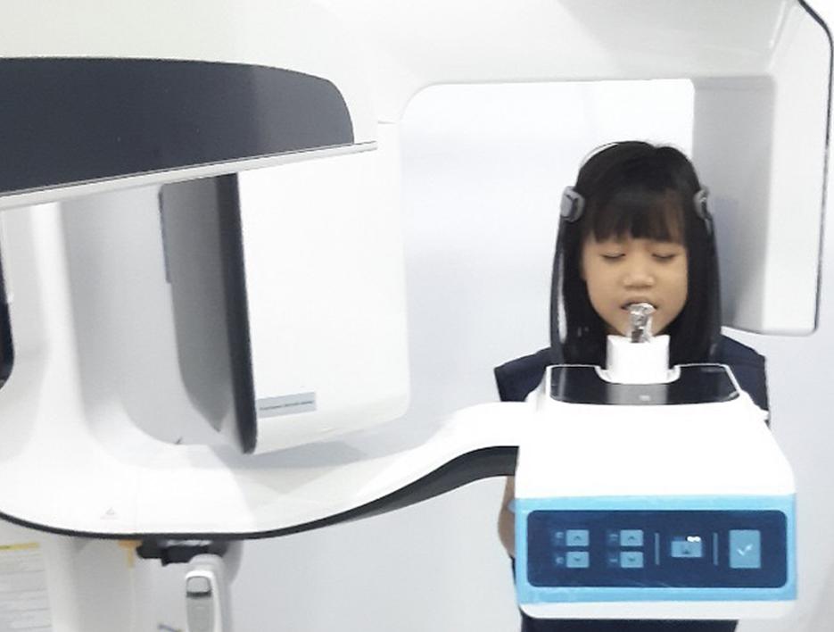 Chụp X-quang nha khoa cho trẻ em
